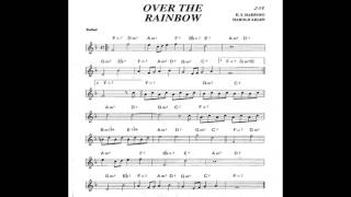 Over the Rainbow - Play along - Backing track (Bb key score trumpet/tenor sax/clarinet)