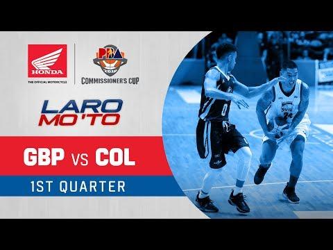 [Sport5]  GlobalPort vs. Columbian Dyip – Q1 | PBA Commissioner's Cup 2018