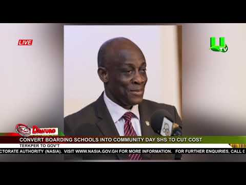 Convert boarding schools into Community Day SHS to cut cost – Terkper to Gov't