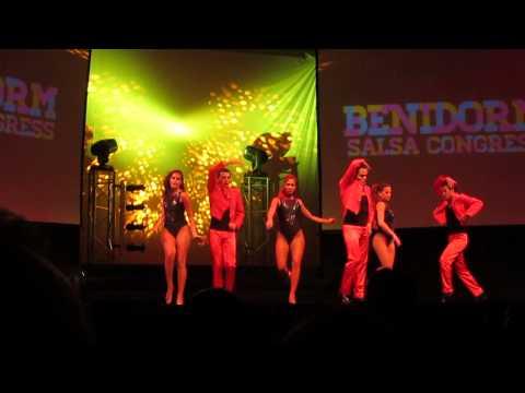 Adolfo Indacoechea & his Latin Soul Dancers  - Benidorm Salsa Congress 2014-07-12
