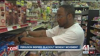 People shopping at black-owned stores for Blackout Monday