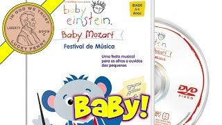 Disney Baby Einstein Collection of Baby Mozart CD's and DVD's