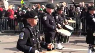 preview picture of video 'Saint Patrick's Day Parade - Boston, Massachusetts - 3/17/2013'