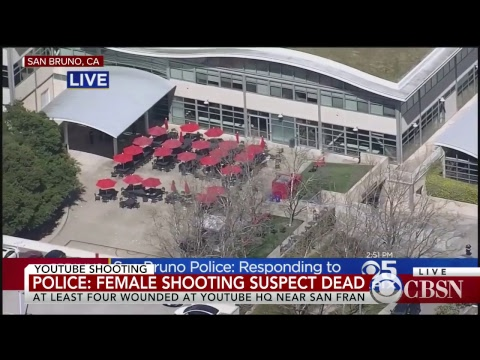 Live: Police respond to active shooter at YouTube HQ