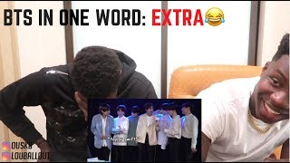 BTS being extra AF in America (Reaction)