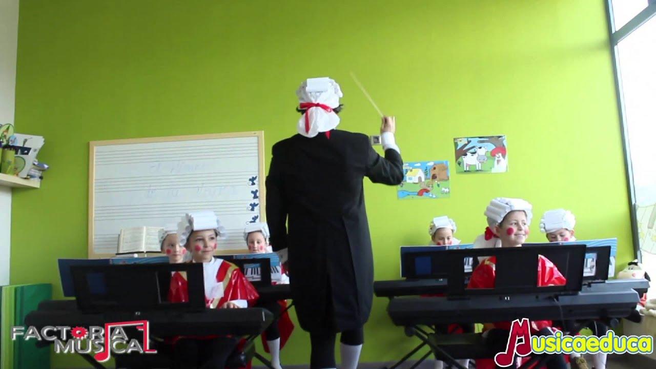 Himno de la Alegría - Grupo de alumno de Mi Teclado 1 - Factoría Musical