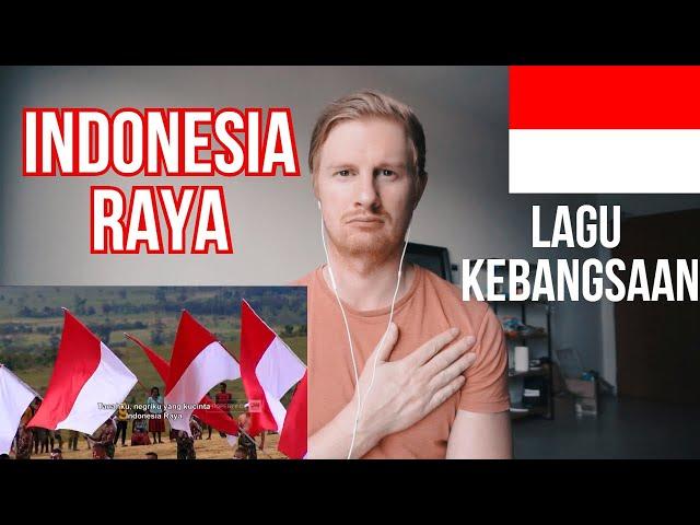 Lagu Indonesia Raya 3 Stanza ; Lagu Kebangsaan Indonesia Raya // INDONESIAN NATIONAL ANTHEM REACTION
