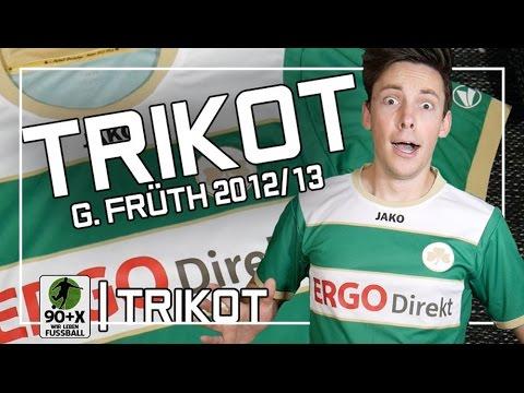 SpVgg Greuther Fürth Home-Trikot | Saison 2012/13 | Trikot-ReviewFolge 4