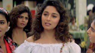 पहले चुम्मे मे हुआ माधुरी को प्यार | Sanjay Kapoor | Raja | Movie Part 01