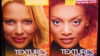 Coloring Natural Hair Bleaching roots and applying color