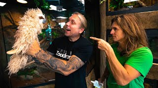 I'M GETTING A SLOTH!! LORI'S MAD AT ME!!   BRIAN BARCZYK