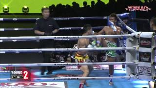 YOKKAO 9 China: Imwiset Pornnarai vs Qiu Jianliang - Muay Thai Full Rules