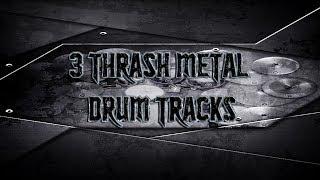 3 Thrash Metal Drum Tracks | Preset 2.0 (HQ,HD)