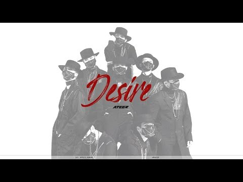 ATEEZ - DESIRE 8D /USE HEADPHONES/