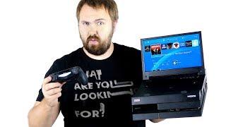 Портативная PS4 - что??