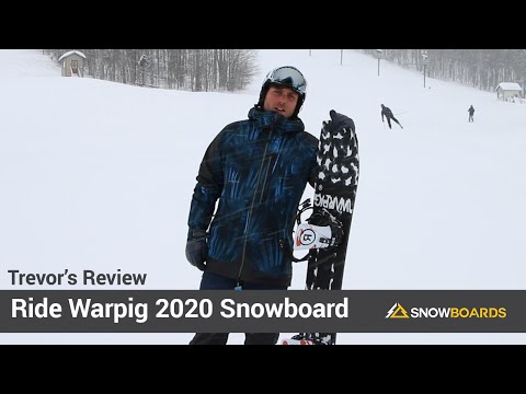 Video: Ride Warpig Snowboard 2020 23 50