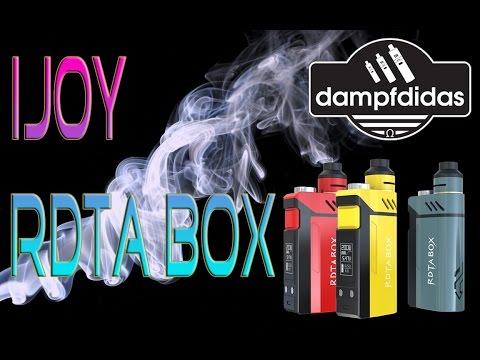 YouTube Video zu IJoy RDTA Box Full Kit 200 Watt 12.8 ml