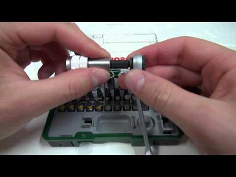 Produkttest Testbericht Bosch 27-tlg. Mini Ratschen-Set