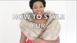 HOW TO STYLE THRIFTED FURS | MY FUR COLLECTION