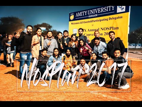 NosPlan-2017 (Amity Gurugram) (Cinematic Event+Travel Film)