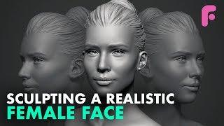 Sculpting A Realistic Female Face In ZBrush