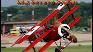 Airdrome Aeroplanes 75% scale Fokker DR-1 Triplane in action