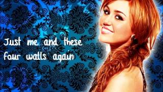 These Four Walls - Miley Cyrus[Lyrics♥]