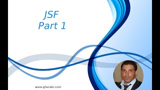 JSF Tutorial Part 1
