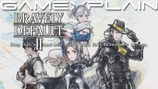 Bravely Default II - Demo Livestream!