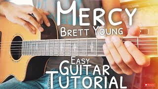 Mercy Brett Young Guitar Lesson For Beginners  Mercy Guitar  Guitar Lesson #539