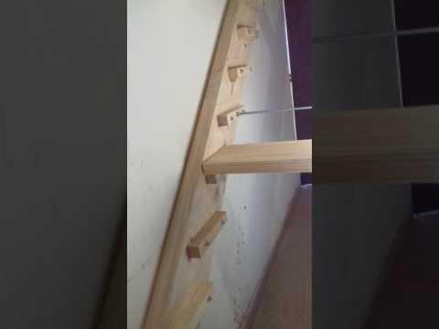 Cómo hacer una escalera de madera