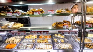 Soviet Russian Food Tour - $3.59 Cheapest Russian Canteen Meal!!   Saint Petersburg, Russia!
