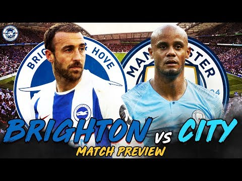 ALL OR NOTHING...   BRIGHTON vs MAN CITY MATCH PREVIEW