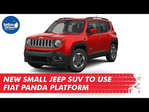 New Small Jeep SUV To Use Fiat Panda Platform