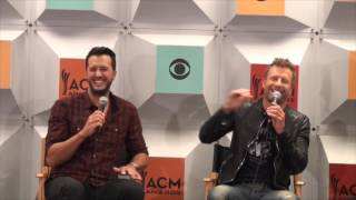 Luke Bryan & Dierks Bentley Talk Hosting 2016 ACM Awards