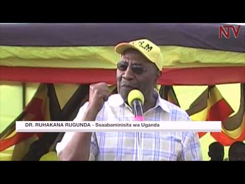 AKALULU K'E SHEEMA:  Rugunda asabye aba NRM okubeera obumu
