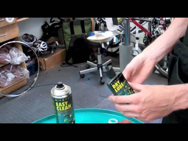 Видео Смазка для цепи велосипеда Motorex DRY LUBE 100ml