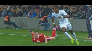 Wilfried Zaha skills vs Russia