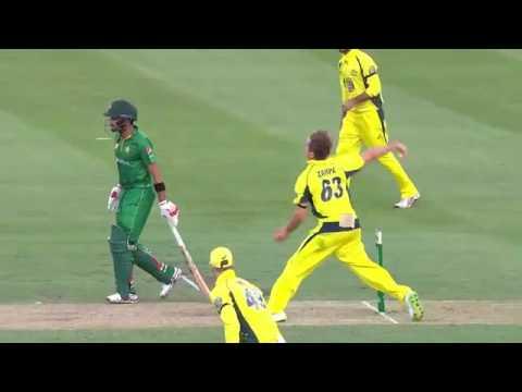 Sharjeel Khan 74 Runs Off 47 Balls vs Australia   Pakistan vs Australia 4th ODI 2017360p