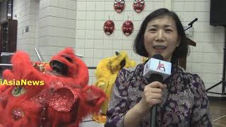 Ms.Xuemei Huang, Chinese teacher, Central Junior High School, Euless speaking to iAsiaNews.