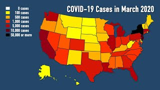 One month with COVID-19: Coronavirus in the United States in March 2020