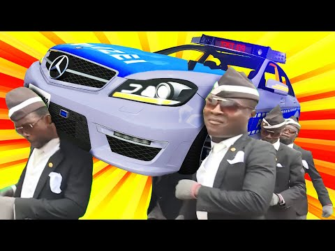 FUNERAL COFFIN DANCE   MEME COVER #29 ASTRONOMIA Cat Cover BeamNG Drive