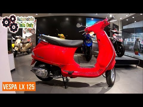 New VESPA LX 125 Scooter Price Colors Overview & Review