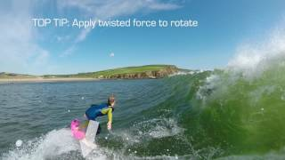#5 Surfing Intermediate – Bottom turn dive