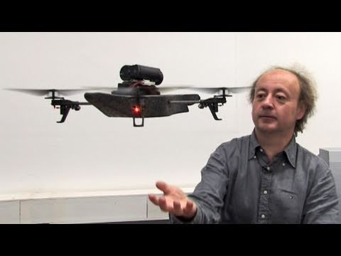 Parrot AR Drone: Helikopter per iPhone steuern