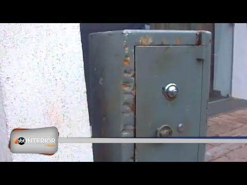 Cofre furtado é recuperado após perseguição policial, em Araçatuba