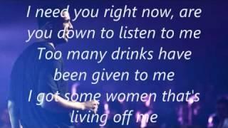 Drake   Marvins Room (Lyrics)