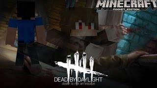Безумный маньяк убил детей в лесу| Карта Dead By Daylight в Minecraft PE без модов|Мини игры