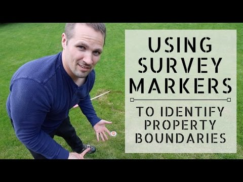 How to Use Survey Markers to Identify Your Land