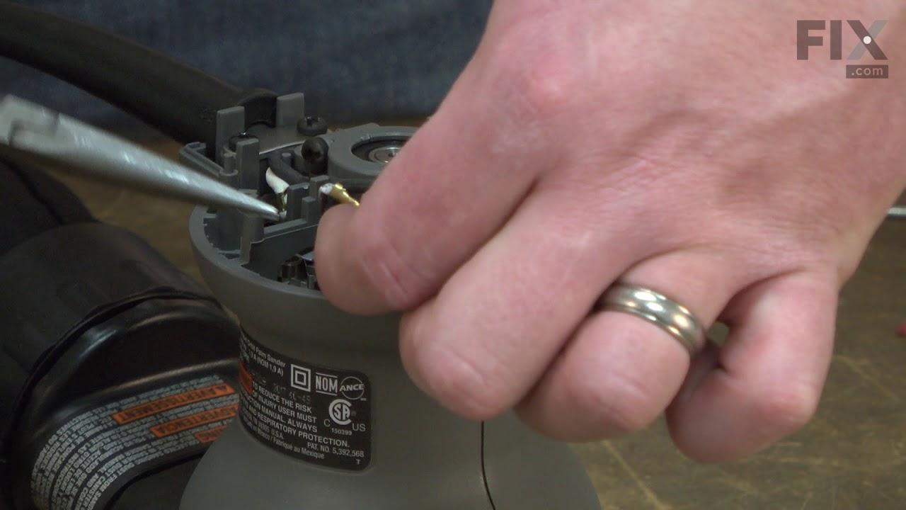 Replacing your DeWALT Angle Grinder Grinder Motor Brush
